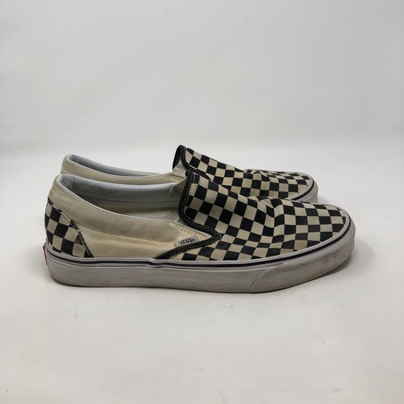 Vans Other - Vans Checkered Slip On. Men's 10.5